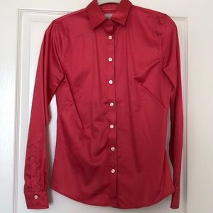 Banana Republic Non-Iron Fitted Button-Up